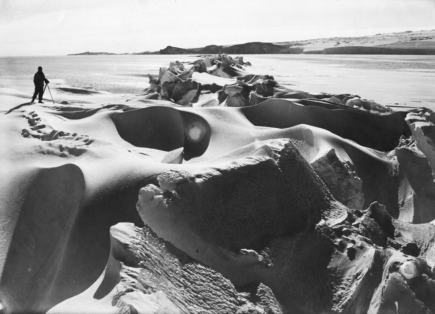 Fotografie z expedice Terra Nova.
