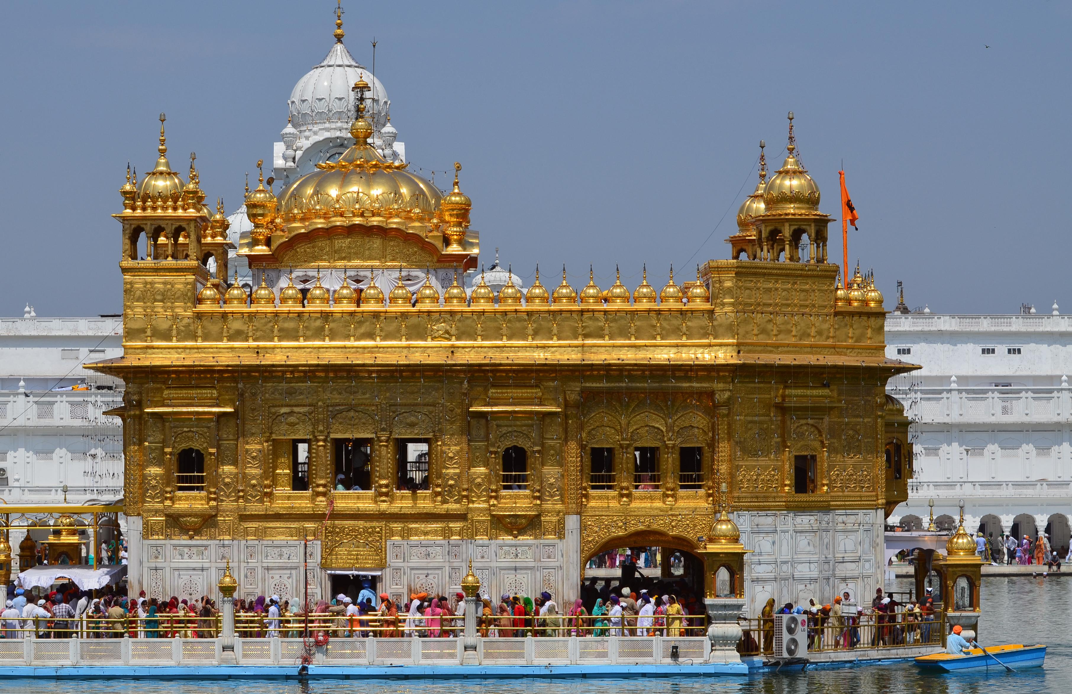 Gurudwara Harmandir Sahib - The Golden Temple, Amritsar, India