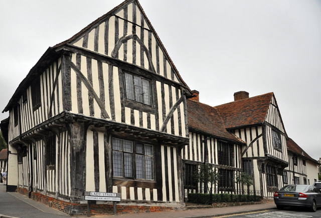 The Old Wool Hall - Lavenham - geograph.org.uk - 1546706