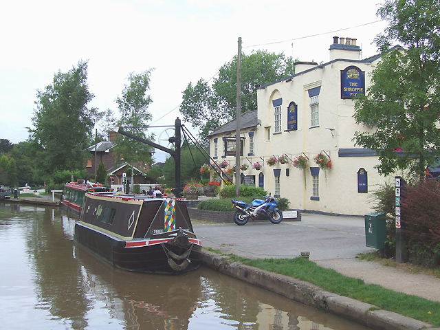 The Shroppie Fly at Audlem, Cheshire - geograph.org.uk - 546911