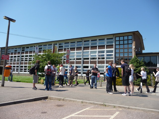 Tiverton , Tiverton High School - geograph.org.uk - 1341741