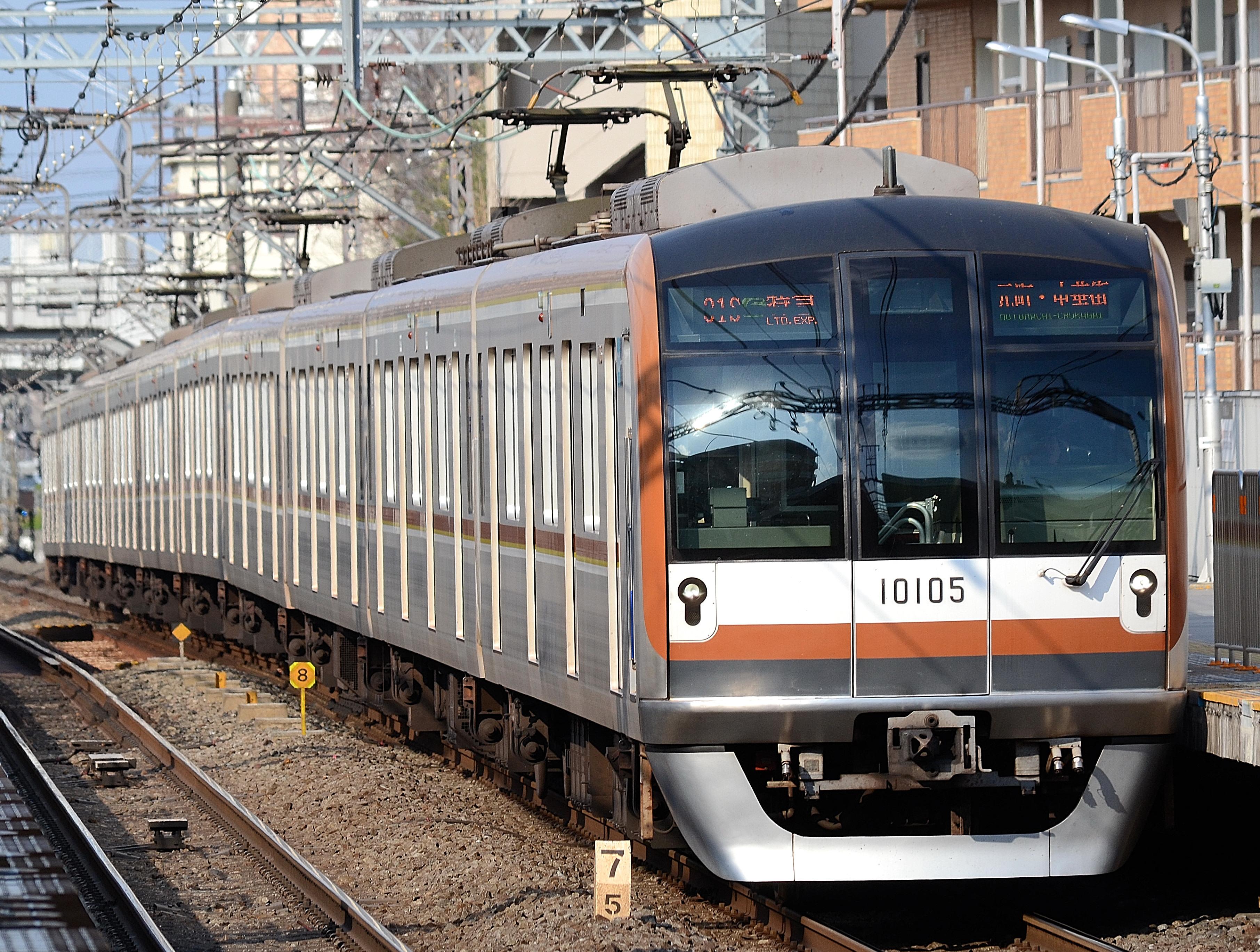 Tokyo Metro 10000 seriesOh no, there's been an error