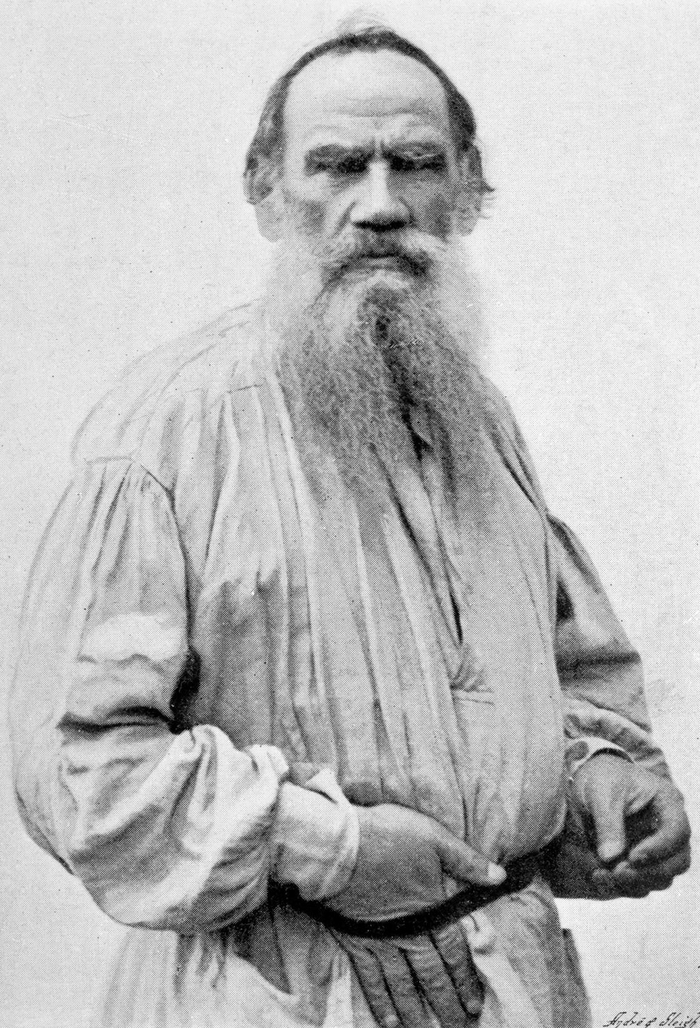 A biography of leo nikolaivich tolstoy