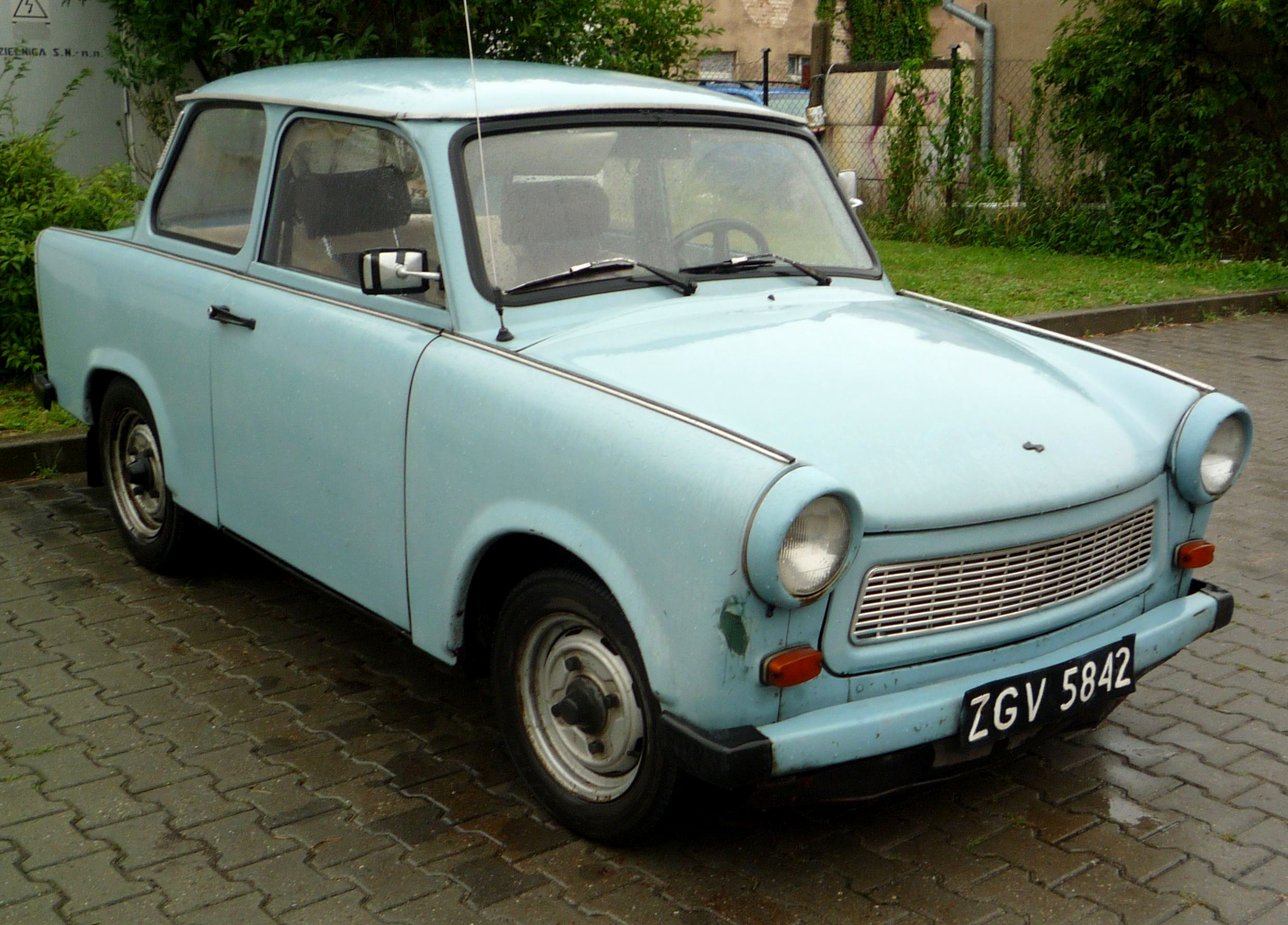 Silly Name For A Silly Trabant Cars