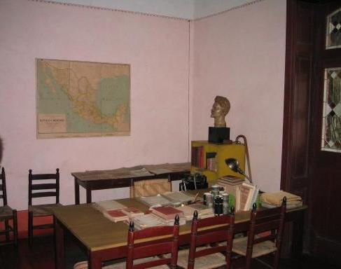 Leon Trotsky's Office