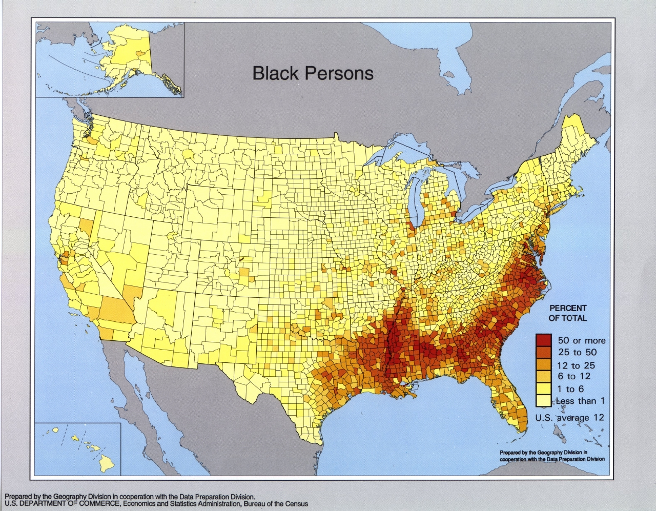 FileUS Census Blackjpg Wikimedia Commons - United states population map
