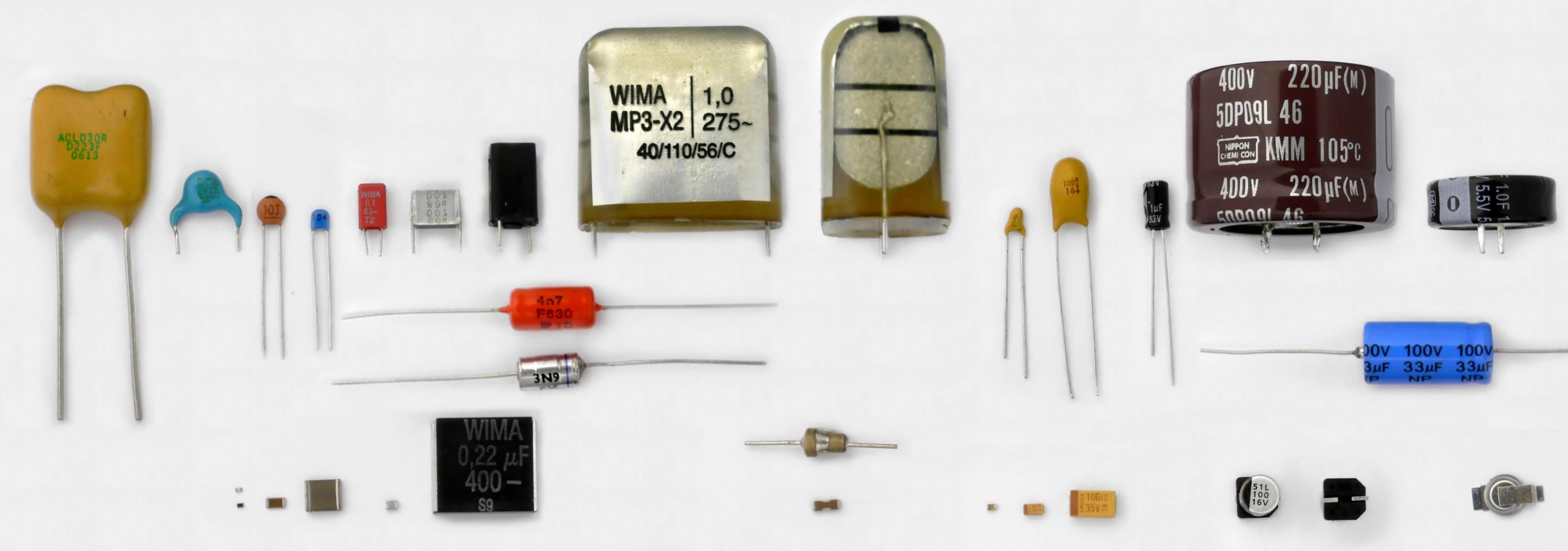 Електричний конденсатор Wikiwand