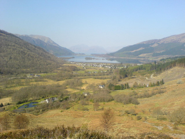 View down Loch Leven - geograph.org.uk - 508899