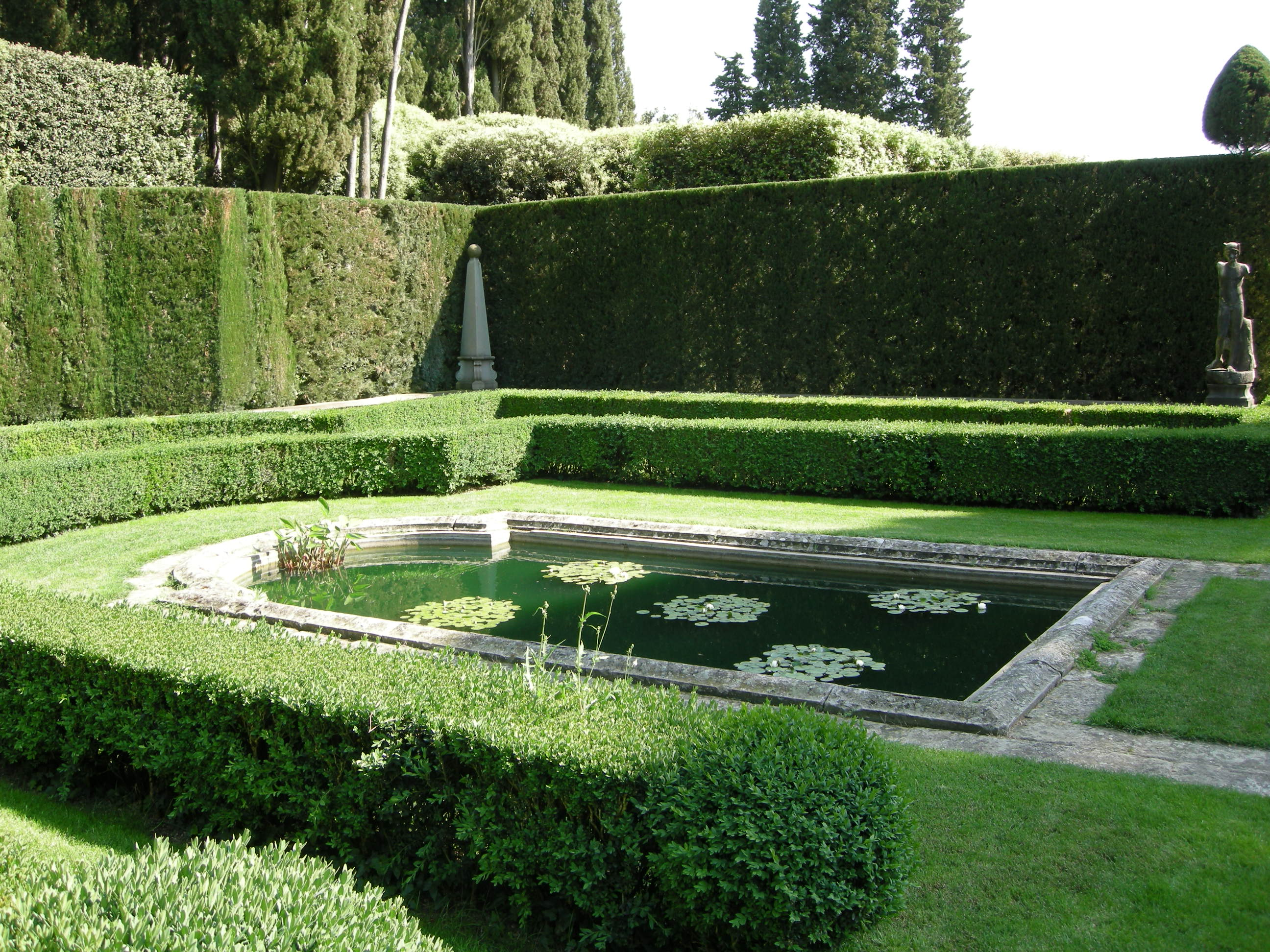 File villa i tatti giardino all 39 italiana parterre d - Giardino all italiana ...