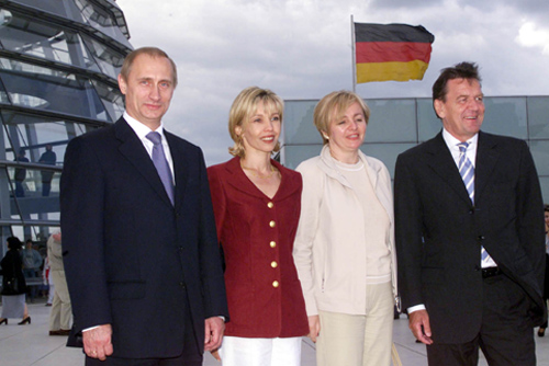 Filevladimir Putin With Gerhard Schroeder 11jpg Wikimedia Commons