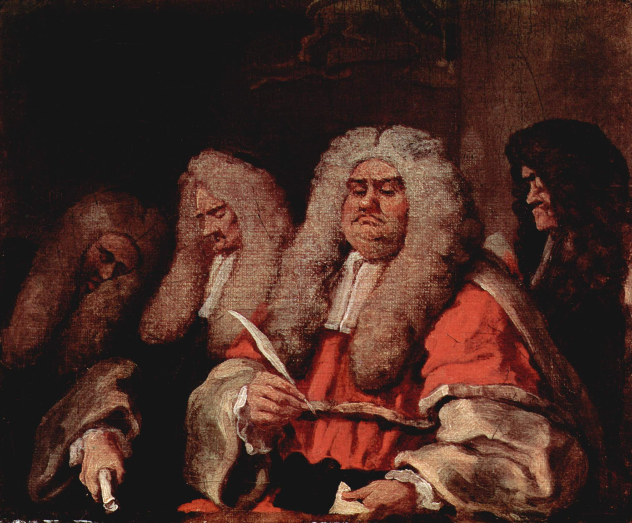 Image result for judge painting
