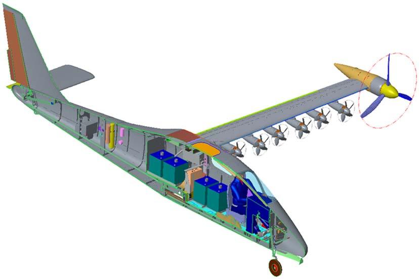 Image 2 : La NASA va faire voler un avion électrique expérimental