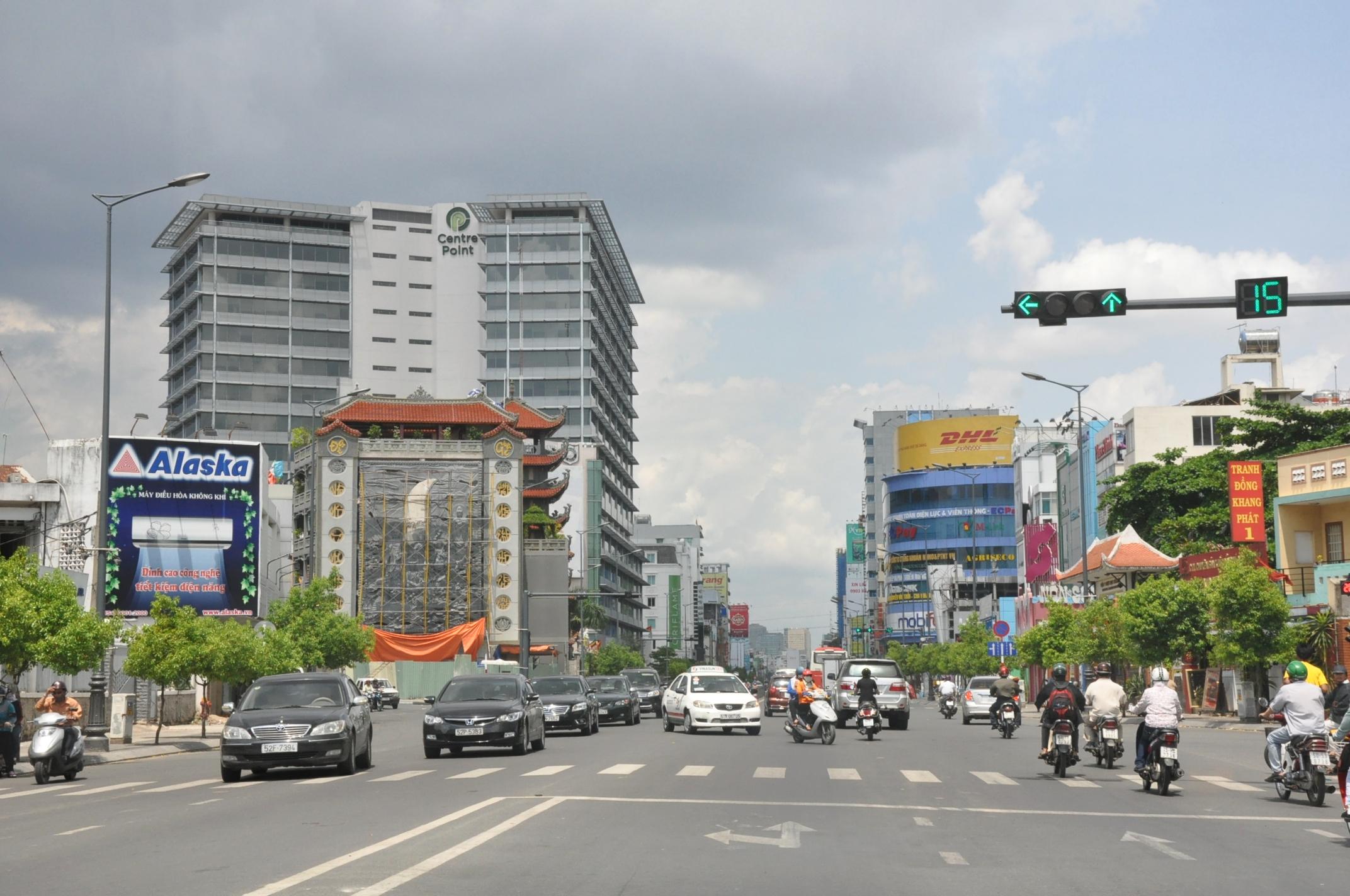 Một góc Quận Phú Nhuận - Ảnh: Wiki