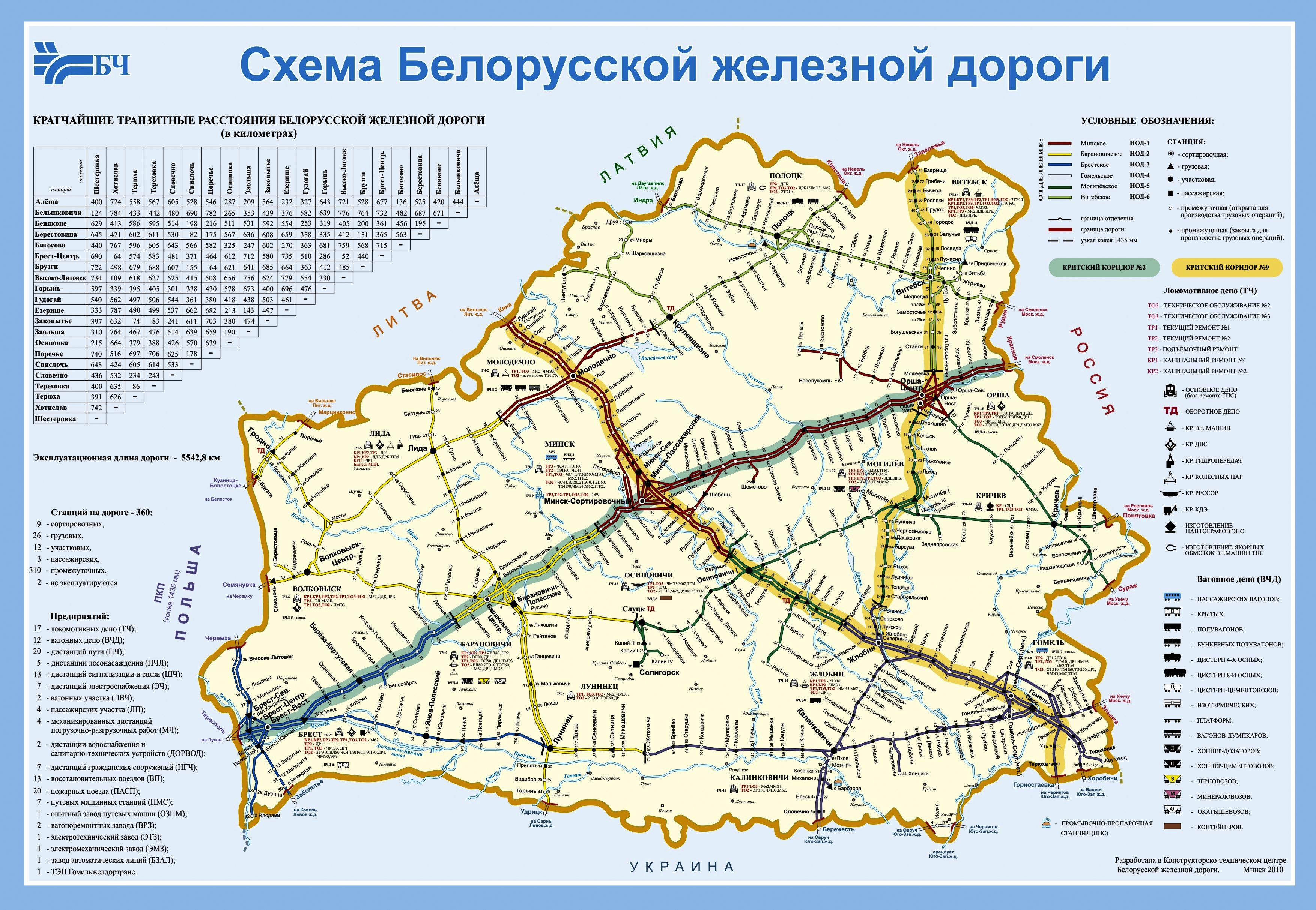 Белорусская железная дорога схема фото 58