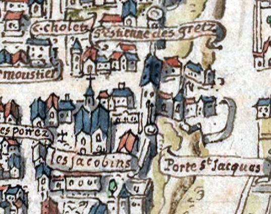 File:1540C Paris Plan De La Tapisserie Porte St-Jacques.Jpg