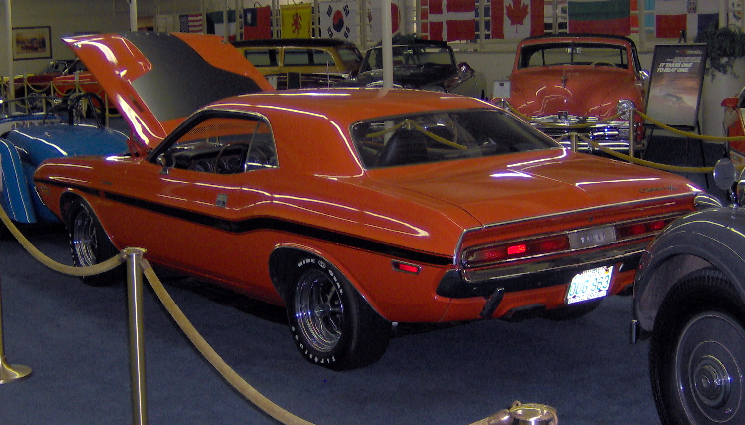 File 1970 Dodge Challenger Rt 440 Six Pack Rear Jpg Wikimedia Commons