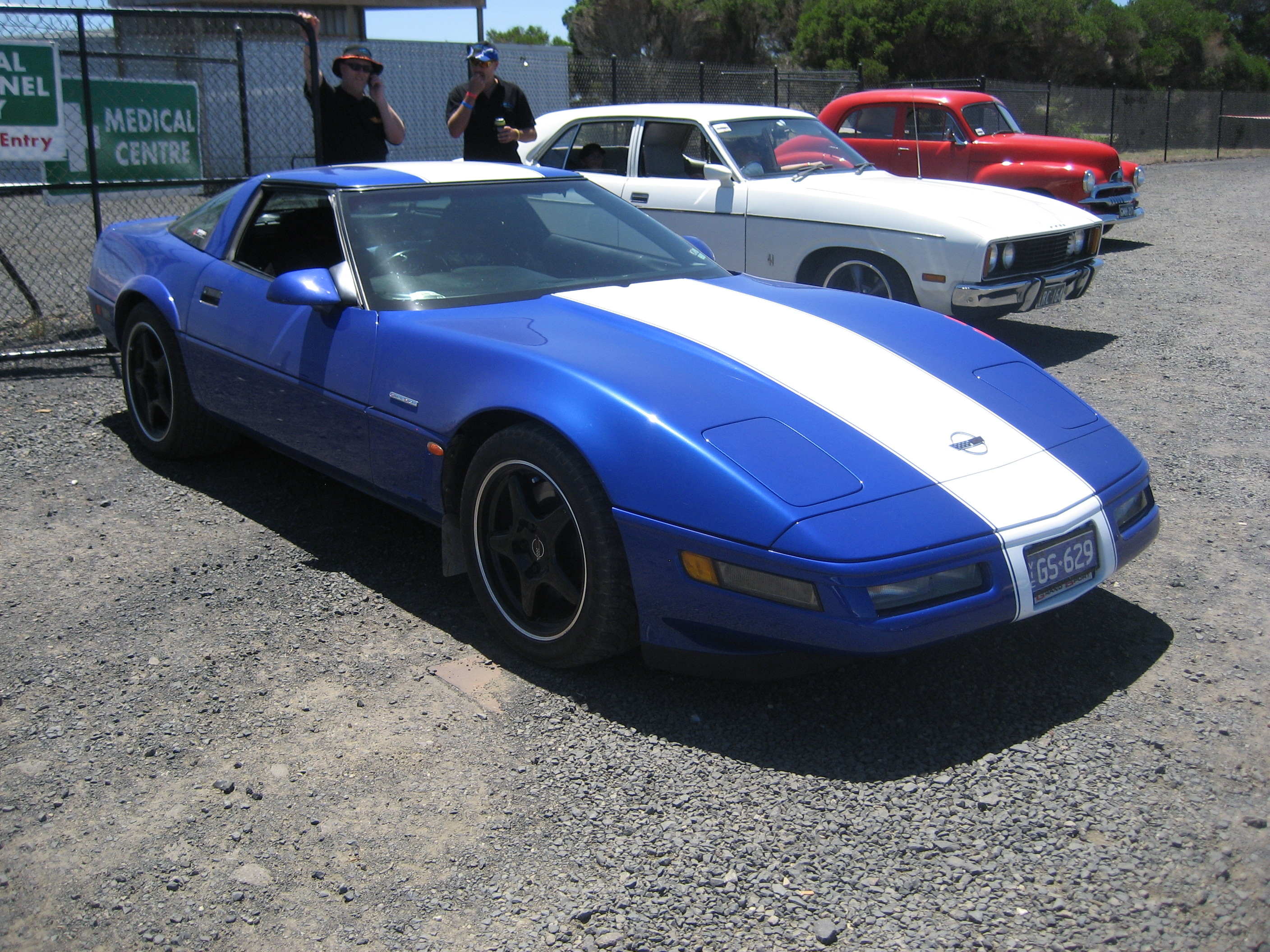 File 1996 Chevrolet Corvette C4 Grand Sport Jpg Wikimedia Commons