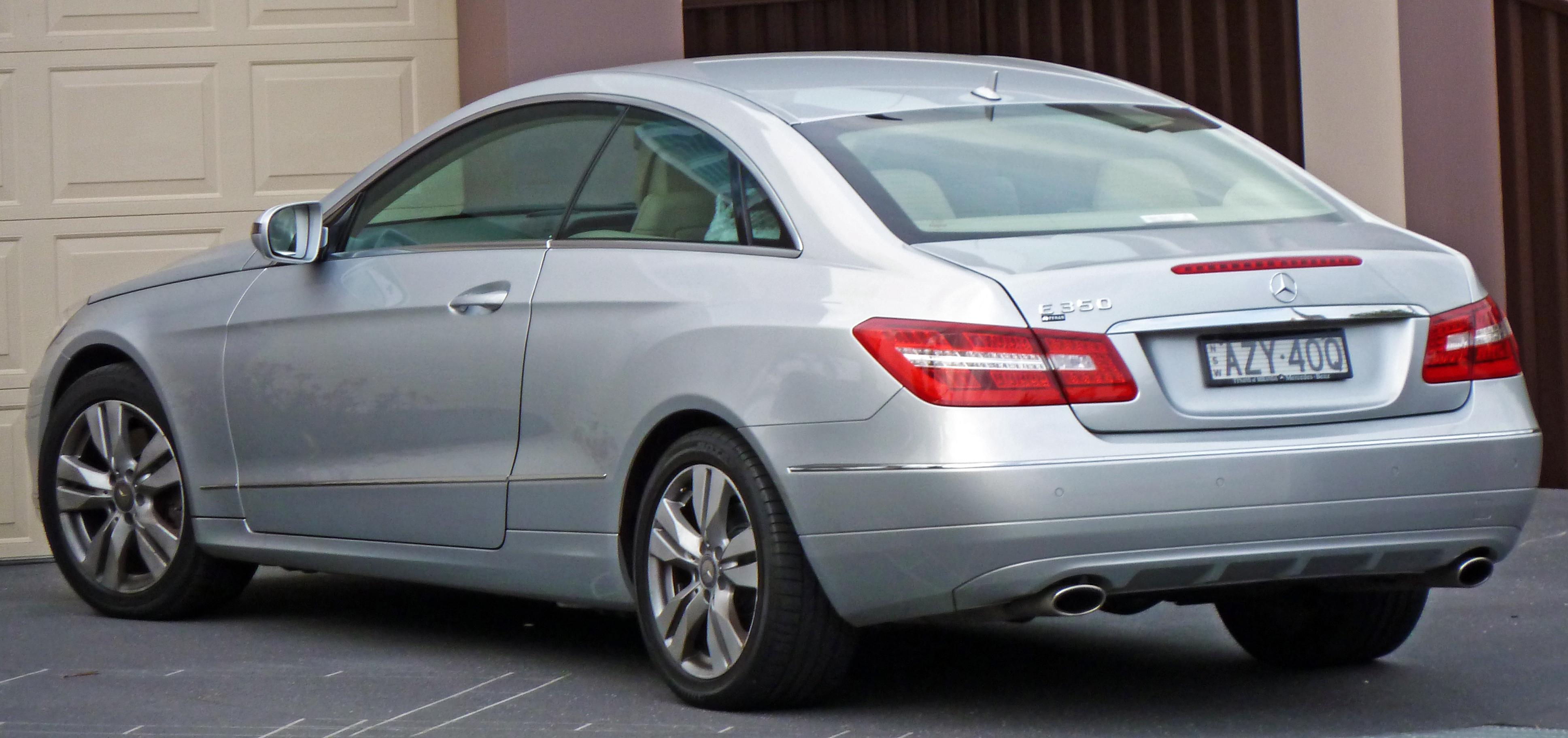 2009 2010 mercedes benz e 350 c 207 elegance for 2010 mercedes benz e350 coupe
