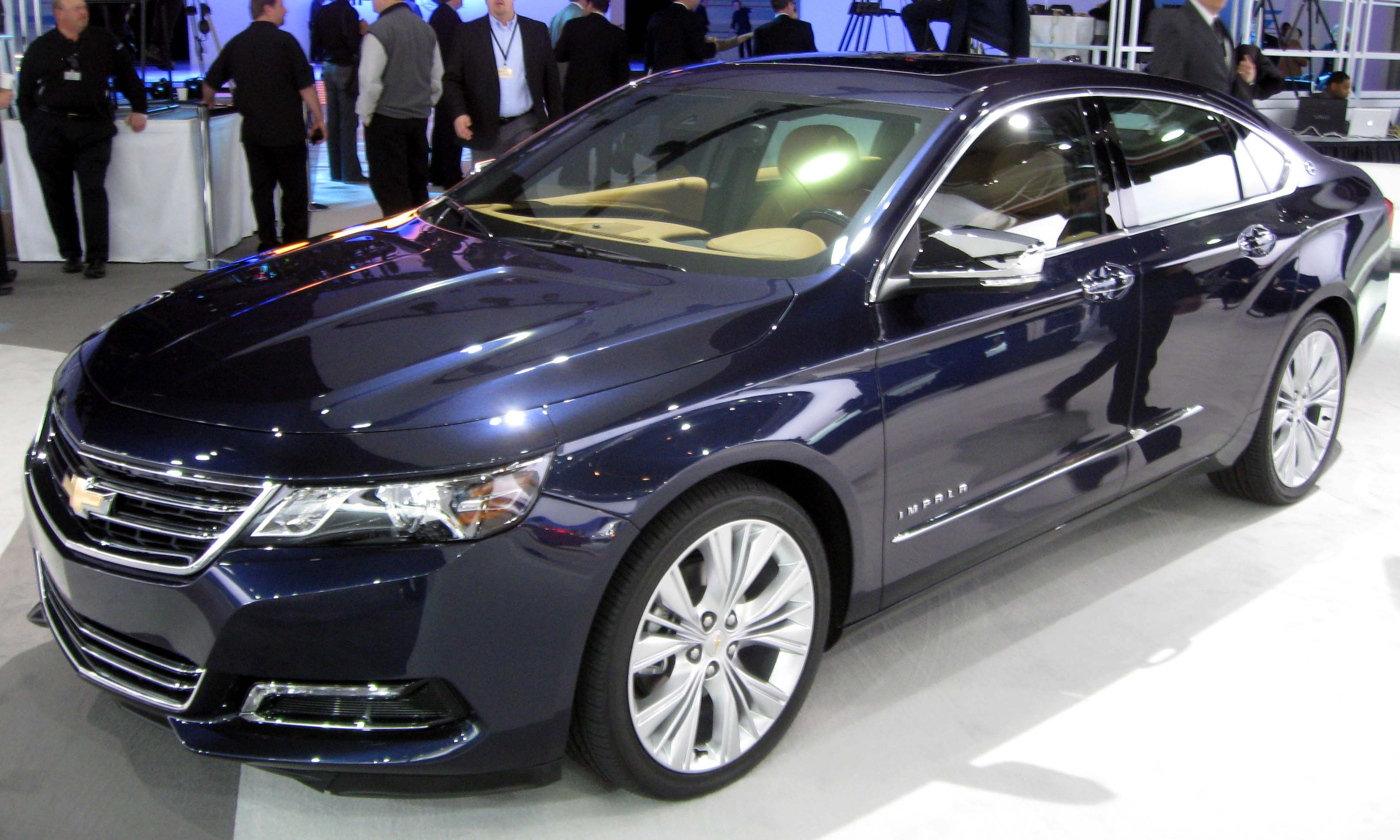 Description 2014 Chevrolet Impala LTZ -- 2012 NYIAS 1.JPG