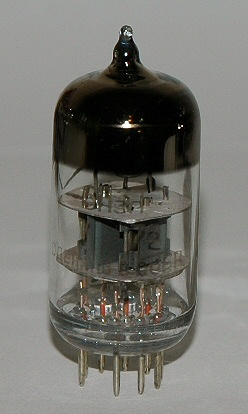 English: 6N3P vacuum tube