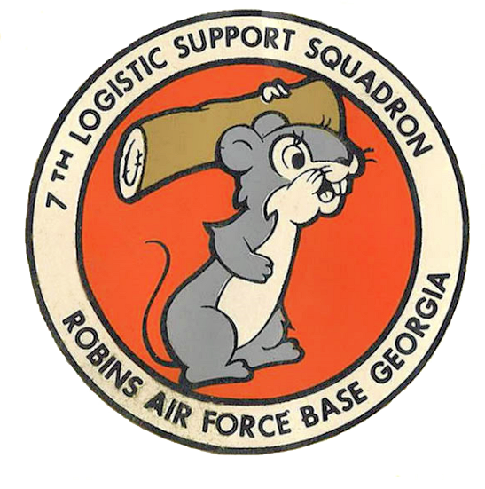 7th EXPEDITIONARY OPS SUPPORT SQUADRON  patch