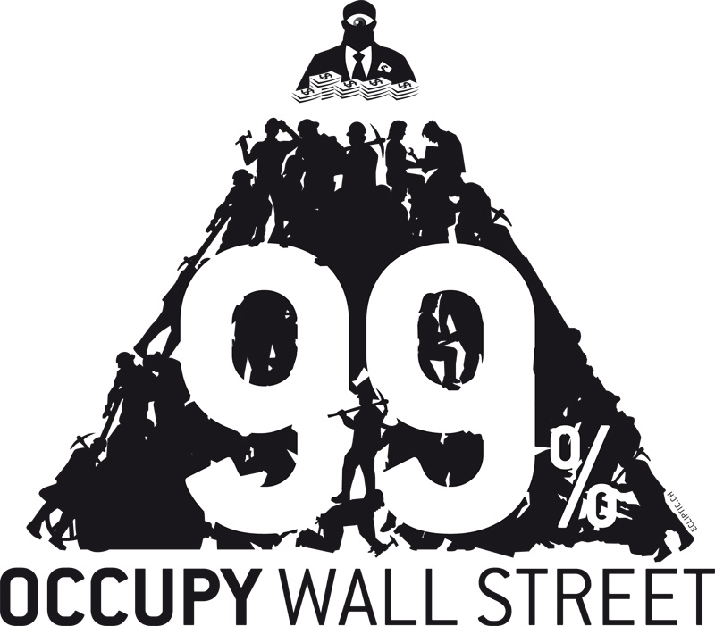 "we are the 99 ""we are the 99%"" is a catchphrase spurred by a single topic tumblr of the same name created in august 2011 in support of the occupy wall street movement."