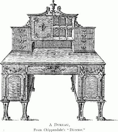 file a bureau from chippendale 39 s wikimedia commons. Black Bedroom Furniture Sets. Home Design Ideas