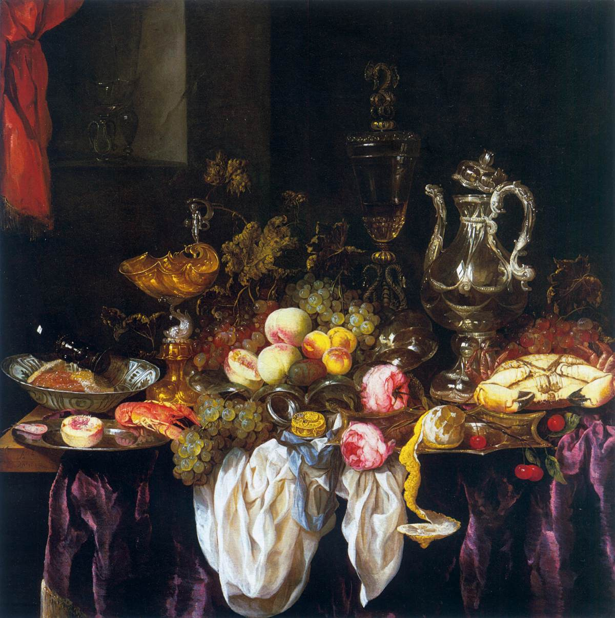 Fileabraham Van Beyeren Still Life With Fruit Sea Food And