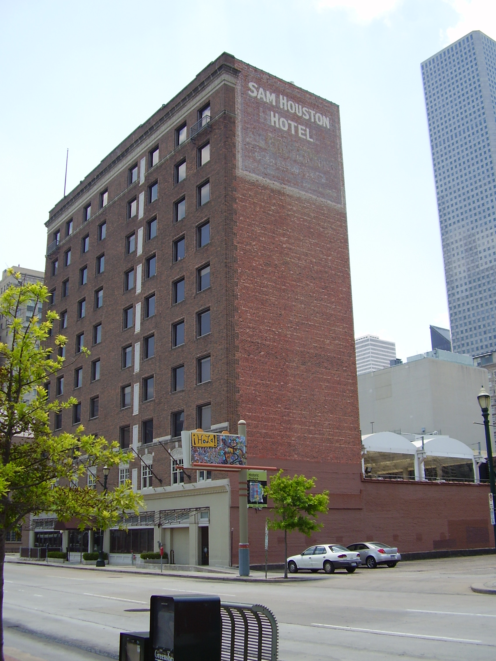 The Sam Houston Hotel - Wikipedia Map Of Hotels In Houston Tx on map of flagstaff az hotels, map of huntington beach ca hotels, map of kearney ne hotels, map of harrisburg pa hotels, map of hilton head island sc hotels, map of paris france hotels, map of new york ny hotels, map of roanoke va hotels, map of ithaca ny hotels, map of metairie la hotels, map of st augustine fl hotels, map of gulfport ms hotels, map of topeka ks hotels, map of kelowna bc hotels, map of providence ri hotels, map of grand forks nd hotels, map of san diego ca hotels, map of gulf shores al hotels, map of minneapolis mn hotels, map of dubuque ia hotels,