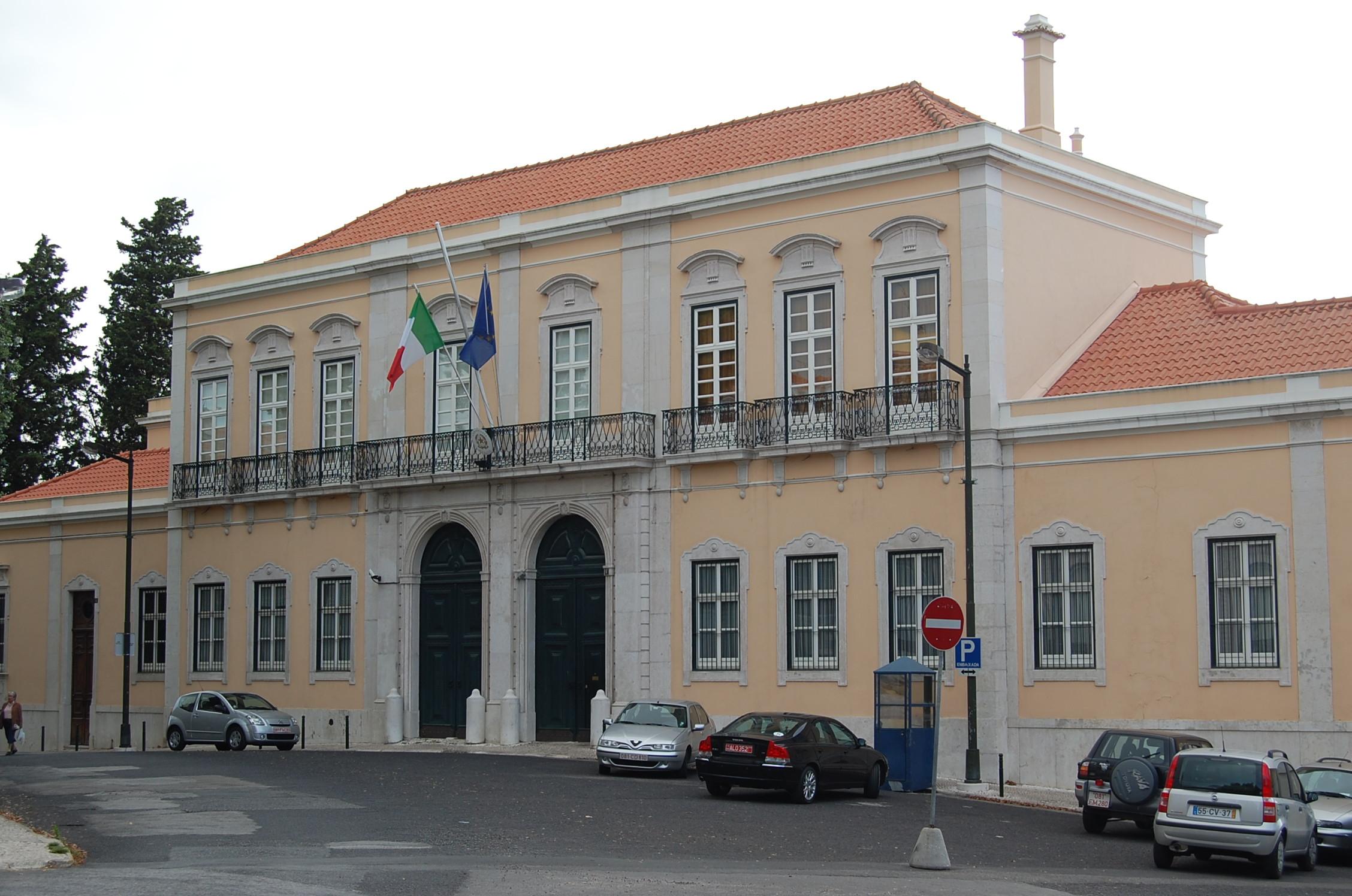 consulado do brasil em lisboa mapa Missões diplomáticas da Itália – Wikipédia, a enciclopédia livre consulado do brasil em lisboa mapa