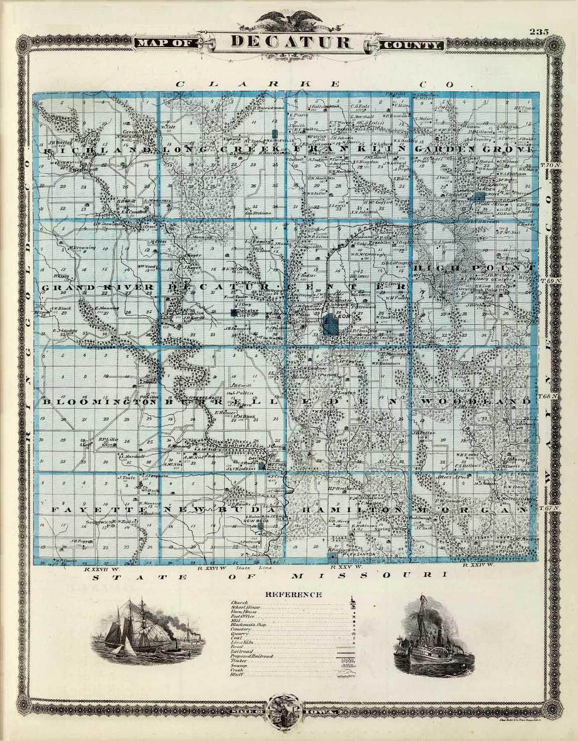 Old Iowa Map.File Ancient Map Of Decatur County Iowa Jpg Wikimedia Commons