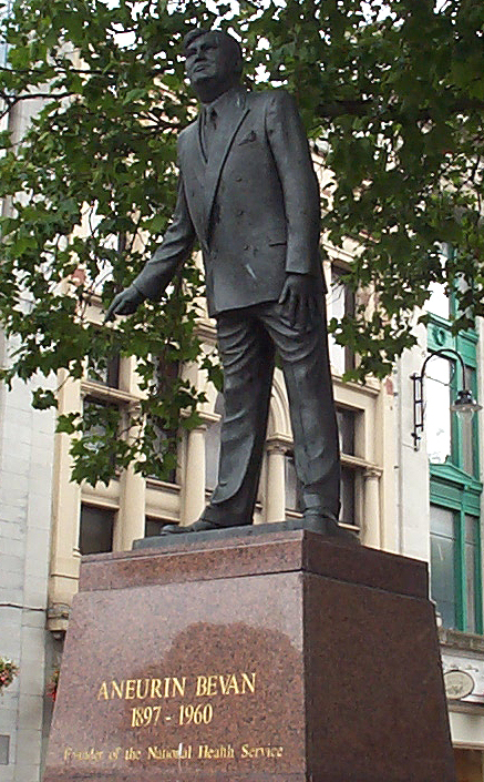 Image result for aneurin bevan statue cardiff