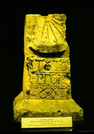 Antike Byzantinische Sonnenuhr