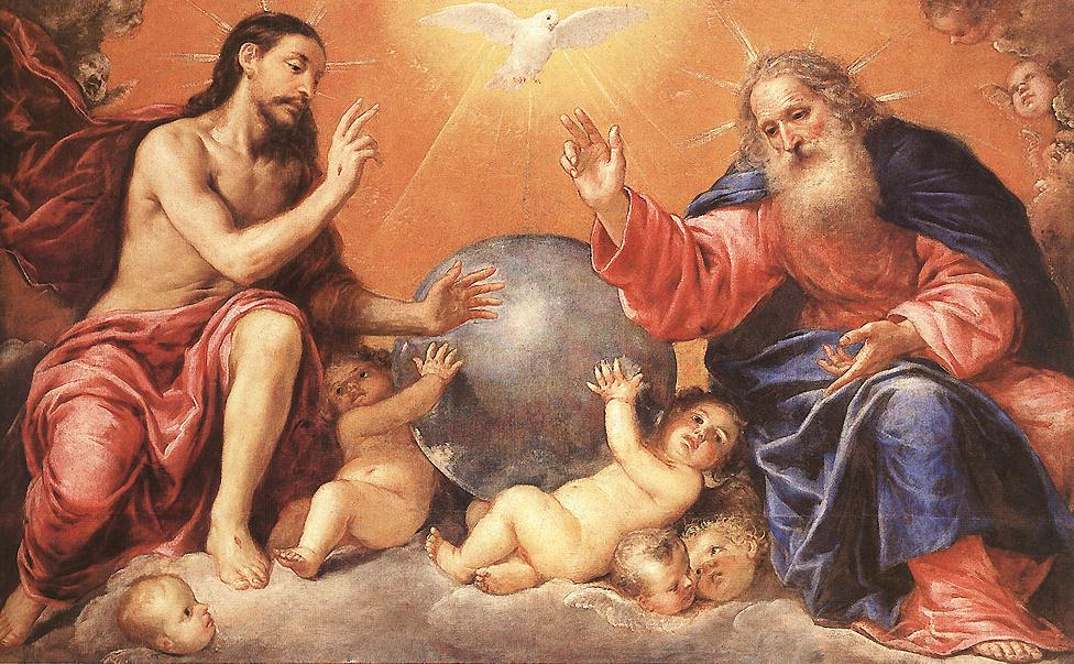 Antonio de Pereda y Salgado - The Holy Trinity - WGA17176.jpg