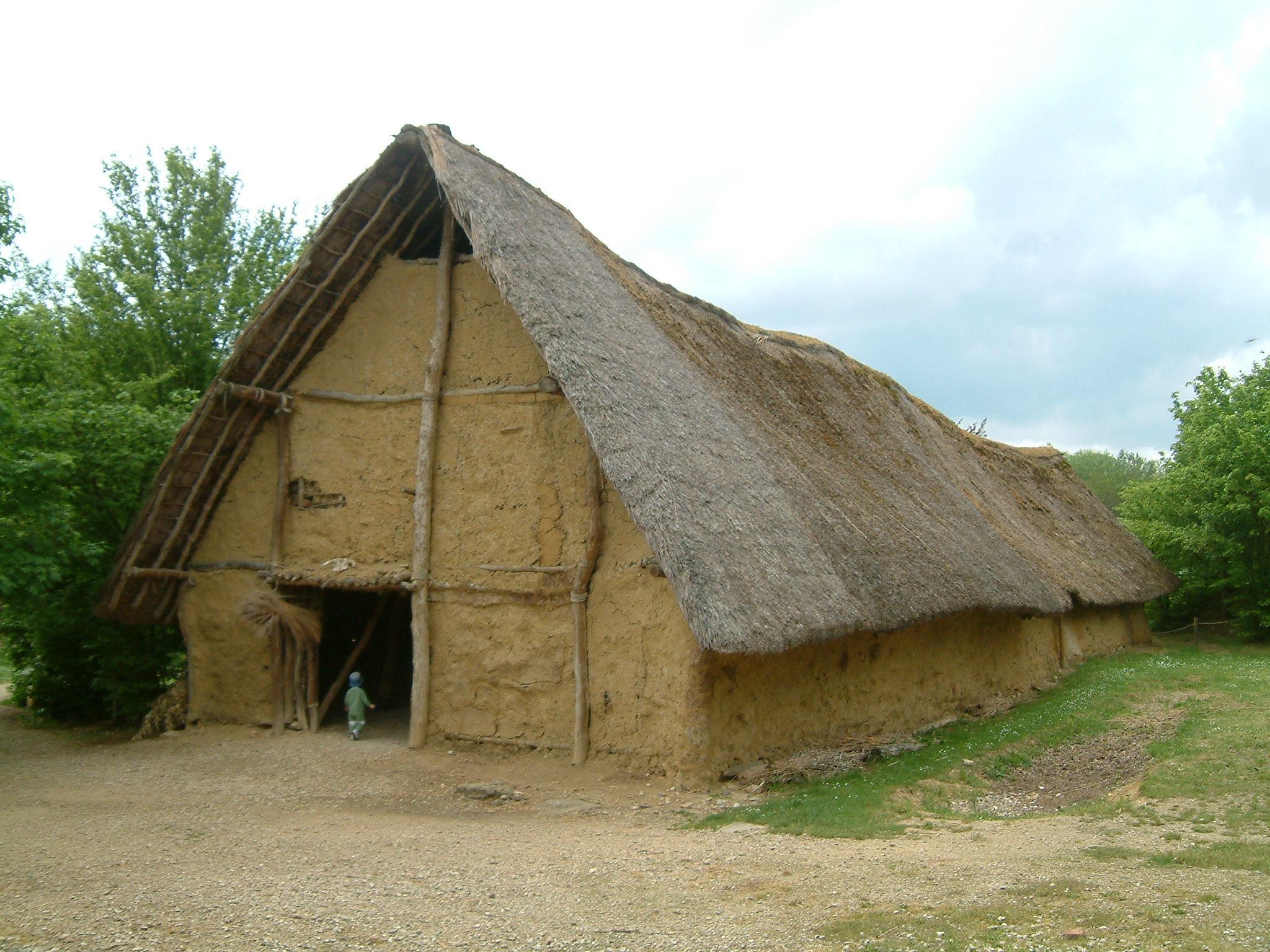 File archeodrome beaune wikimedia commons - Les materiaux pour construire une maison ...