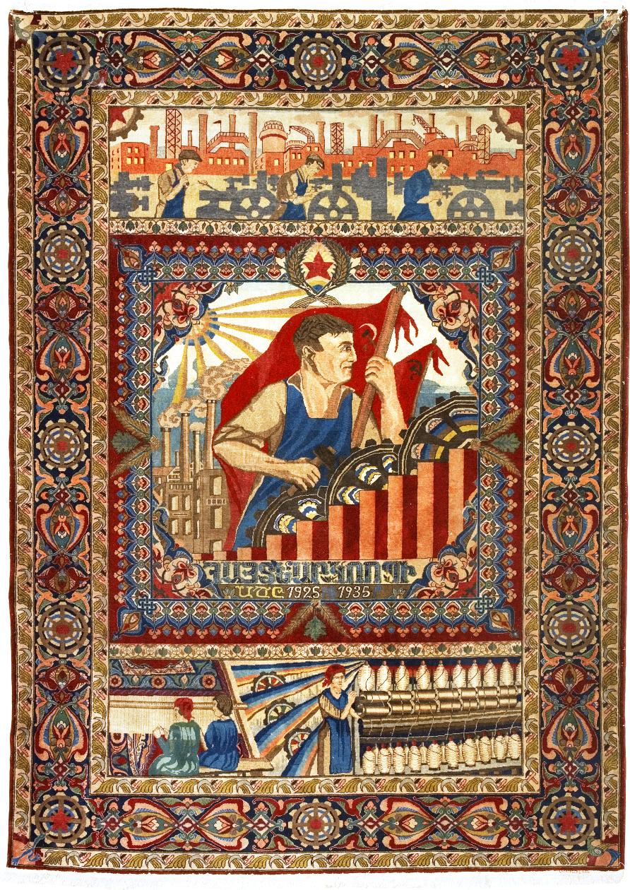 File Armenian Rug Soviet Armenia The Beginning Of The