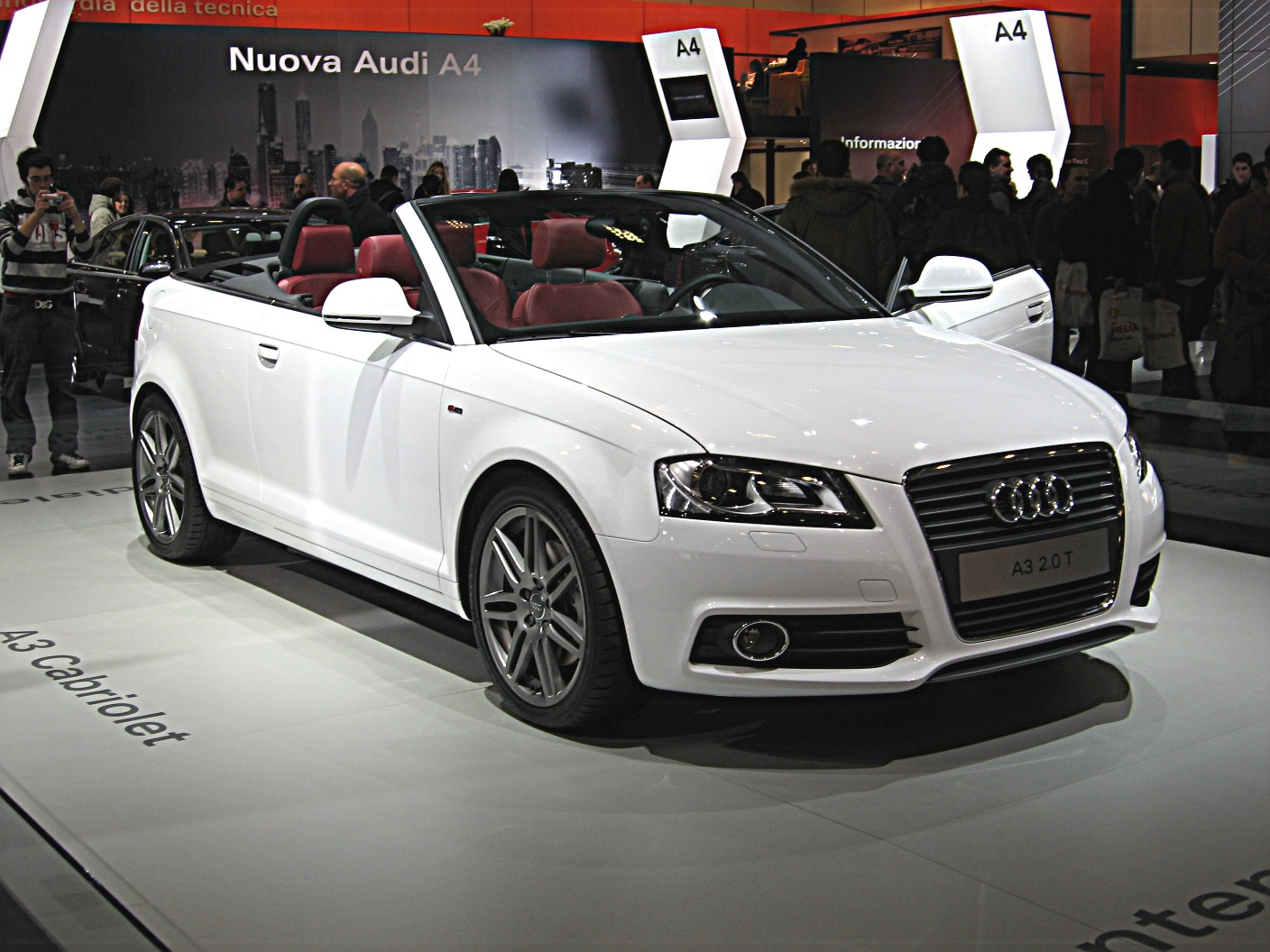 File Audi A3 Cabriolet Front View Jpg Wikimedia Commons