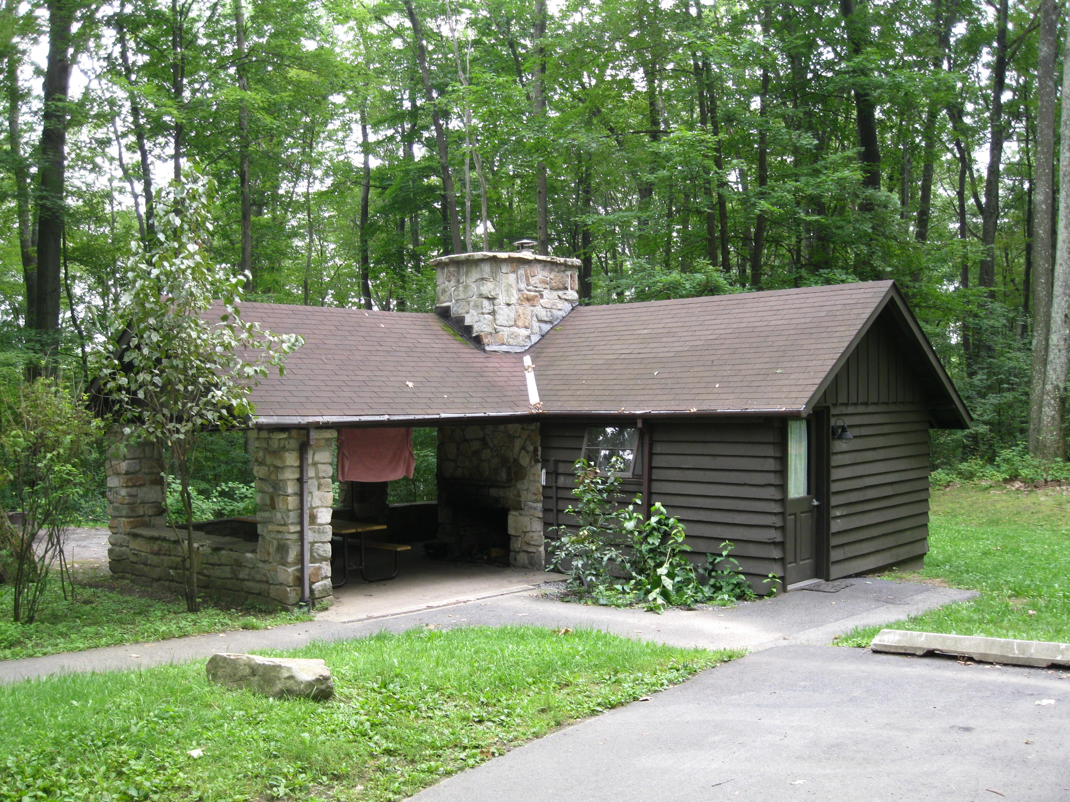 file black moshannon state park cabin