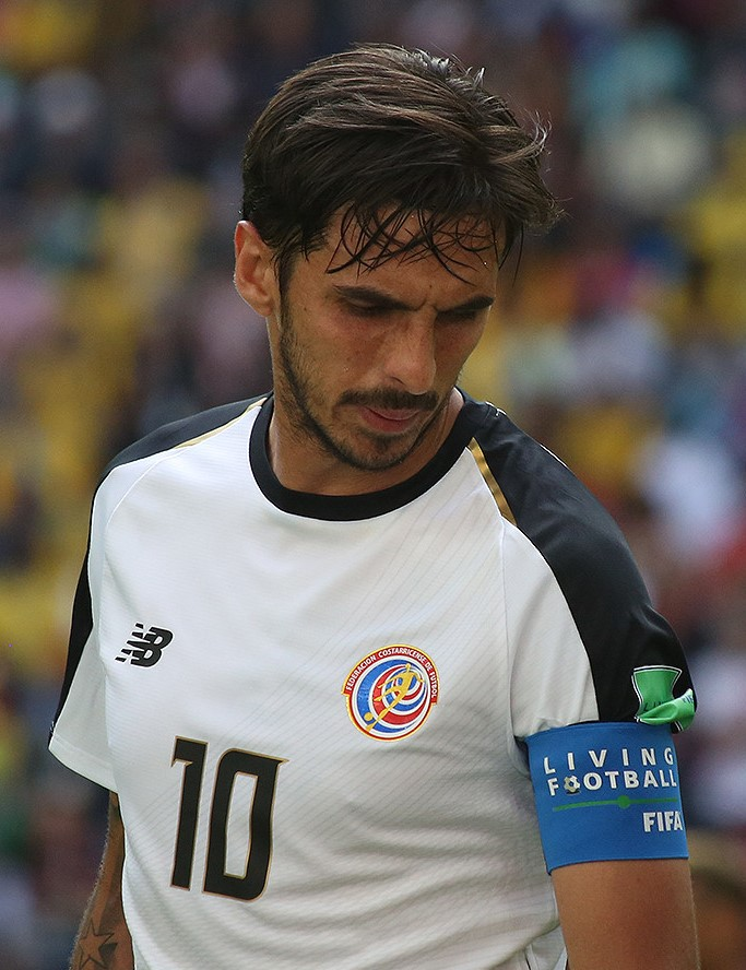 Il 32-anni, 188 cm alto Bryan Ruiz in 2018 photo