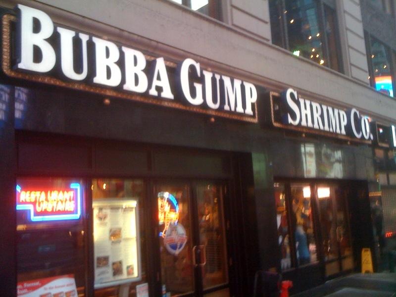 Bubba Gump Shrimp Co Restaurants Inc London