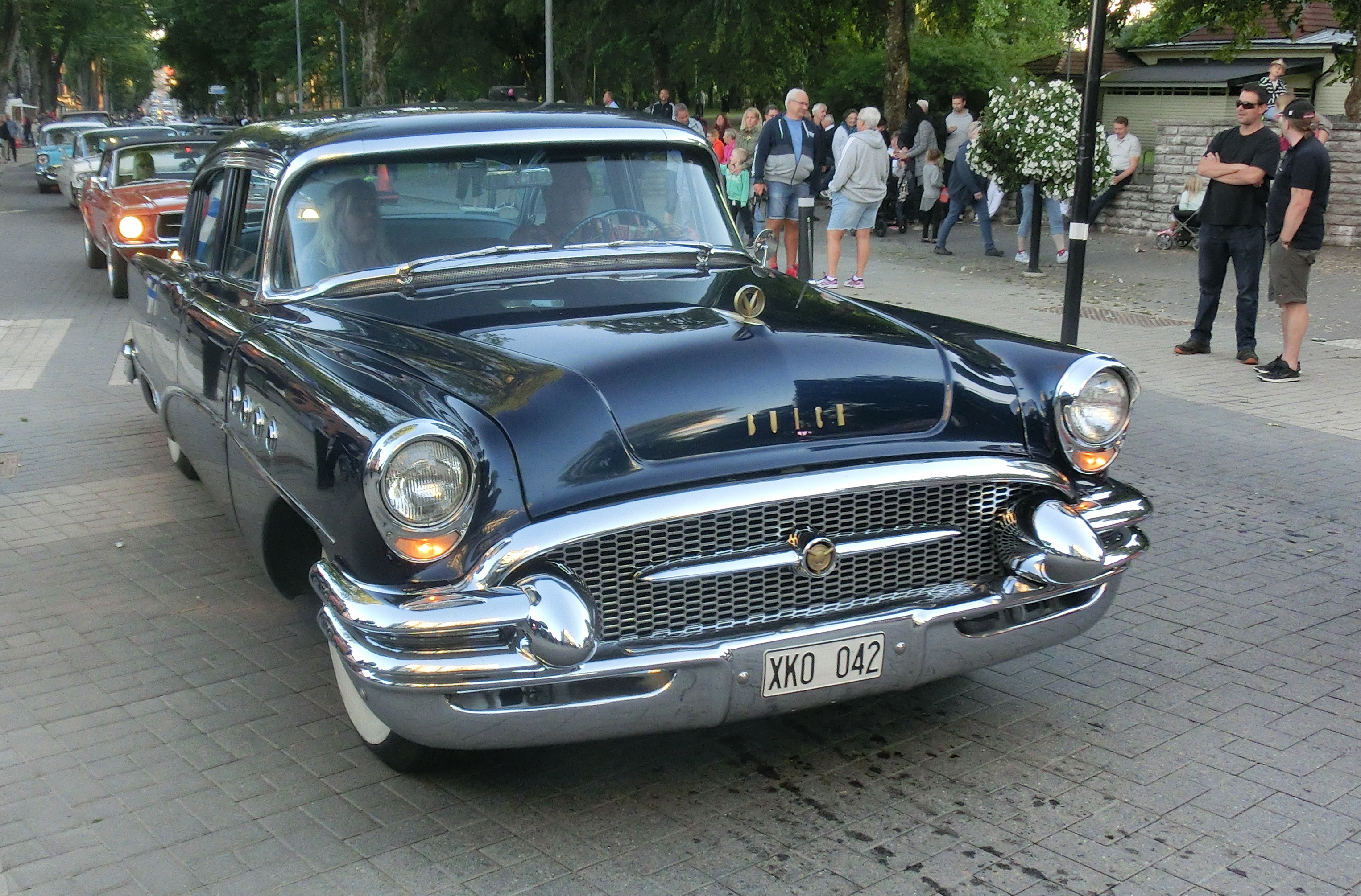 File Buick Roadmaster 1955 Falköping Cruising 2016 4406 Jpg