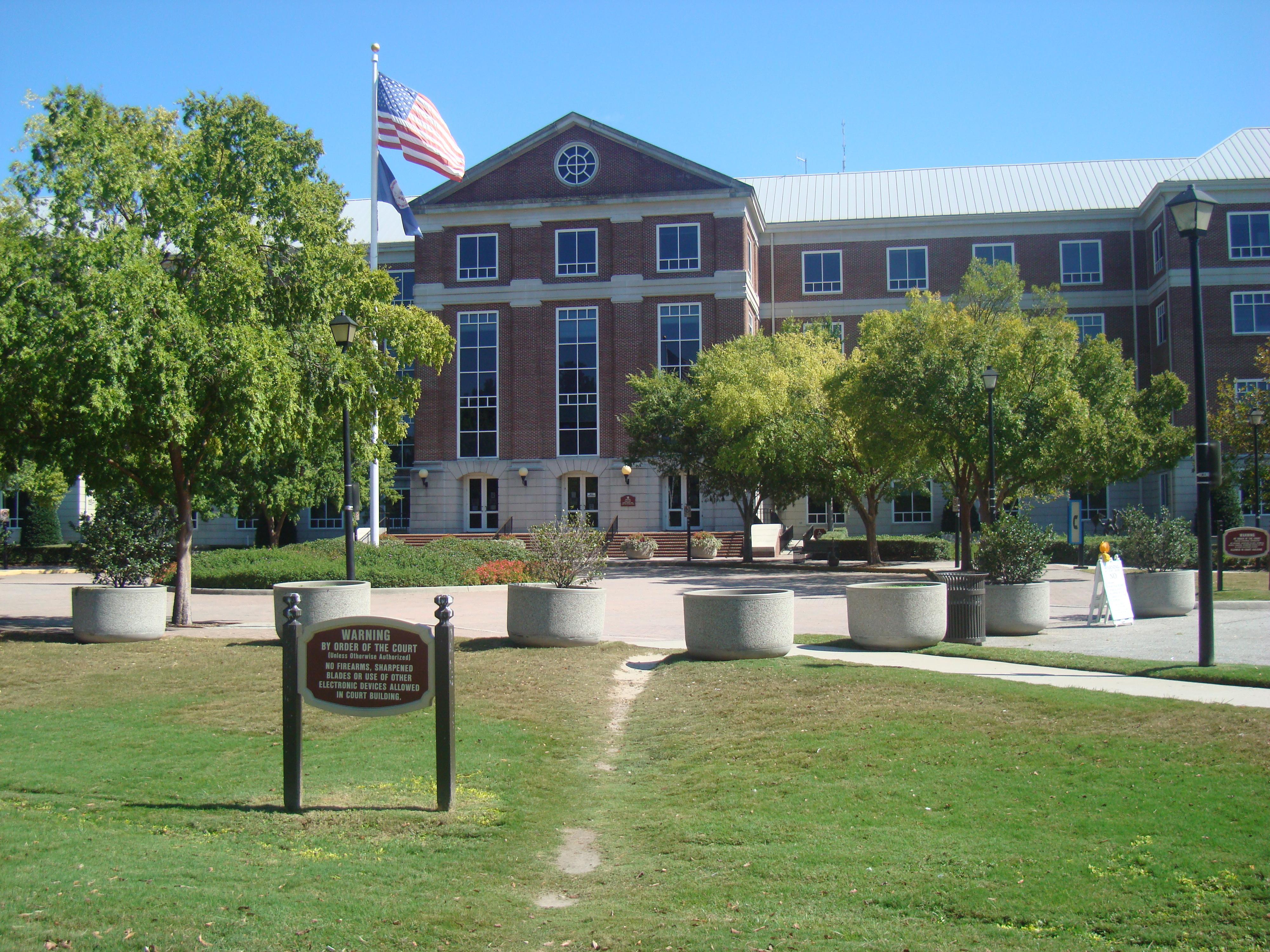 Map Virginia Beach Municipal Center