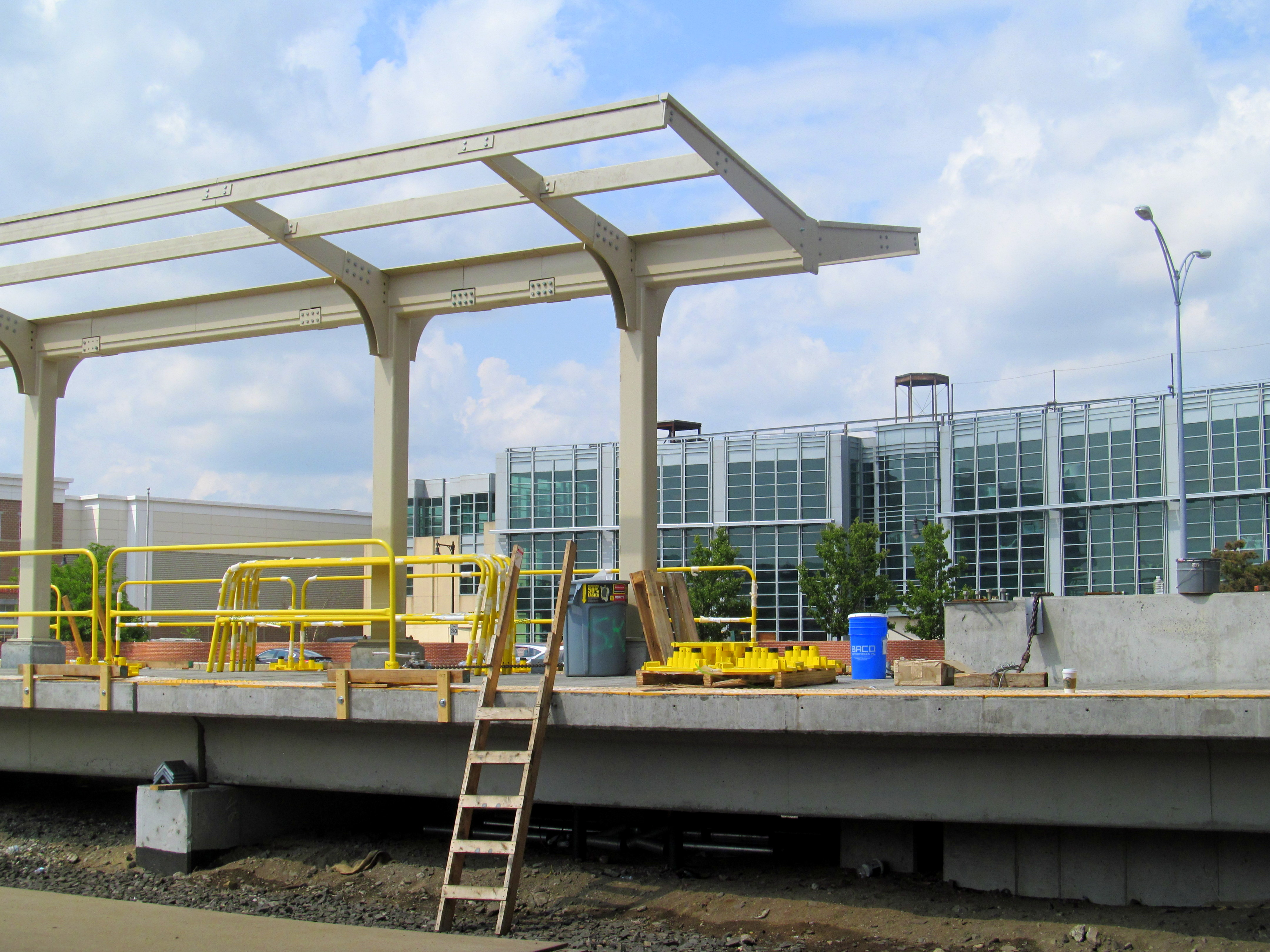filebutterfly canopy under construction at boston landing station august 2016jpg - Open Canopy 2016