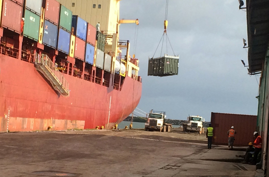 File:Cargo vessel arrives in Africa with supplies, equipment for DLA mission 141025-D-xx999-001.jpg
