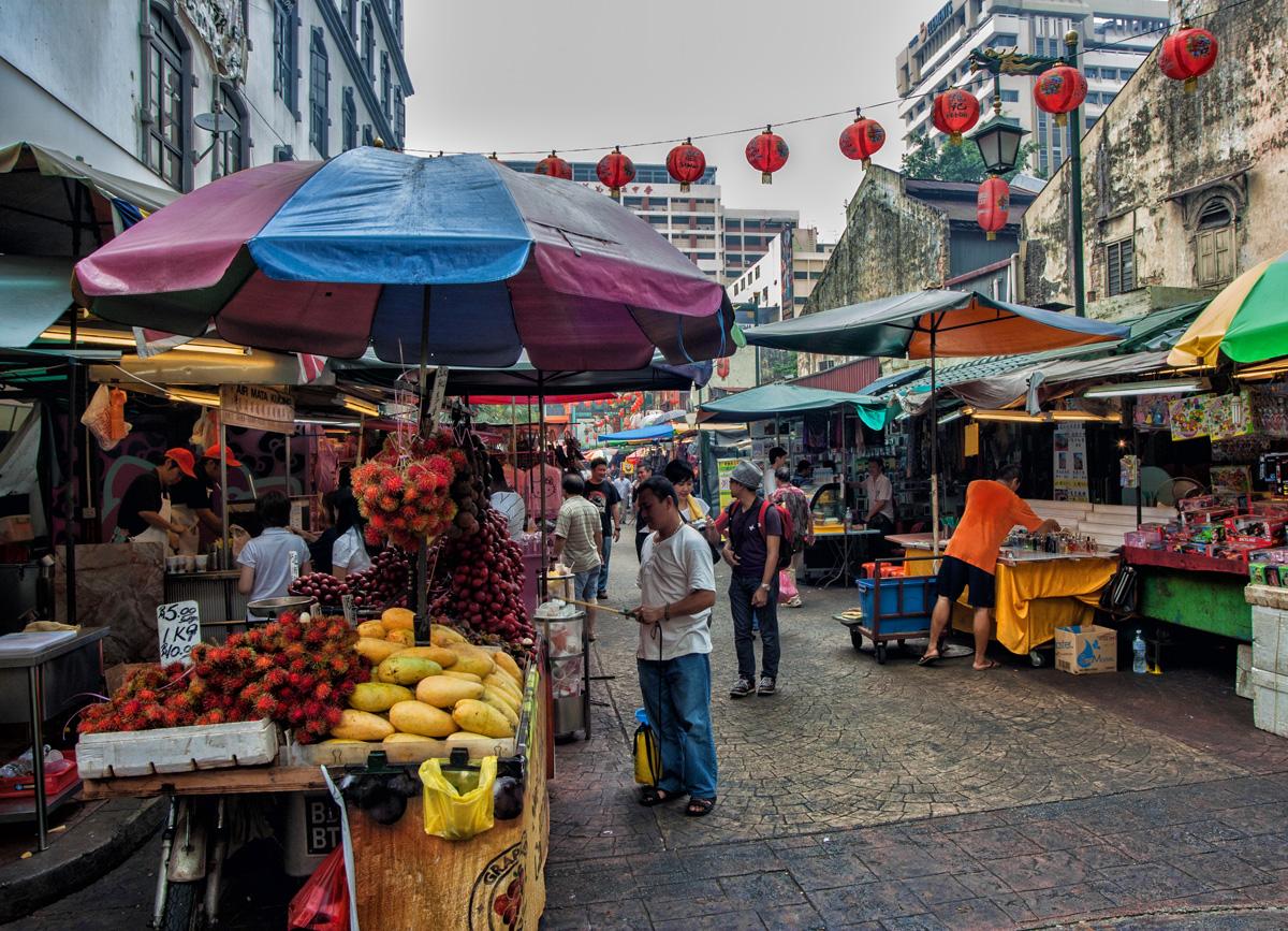 chinatown - Kuala Lumpur Itinerary