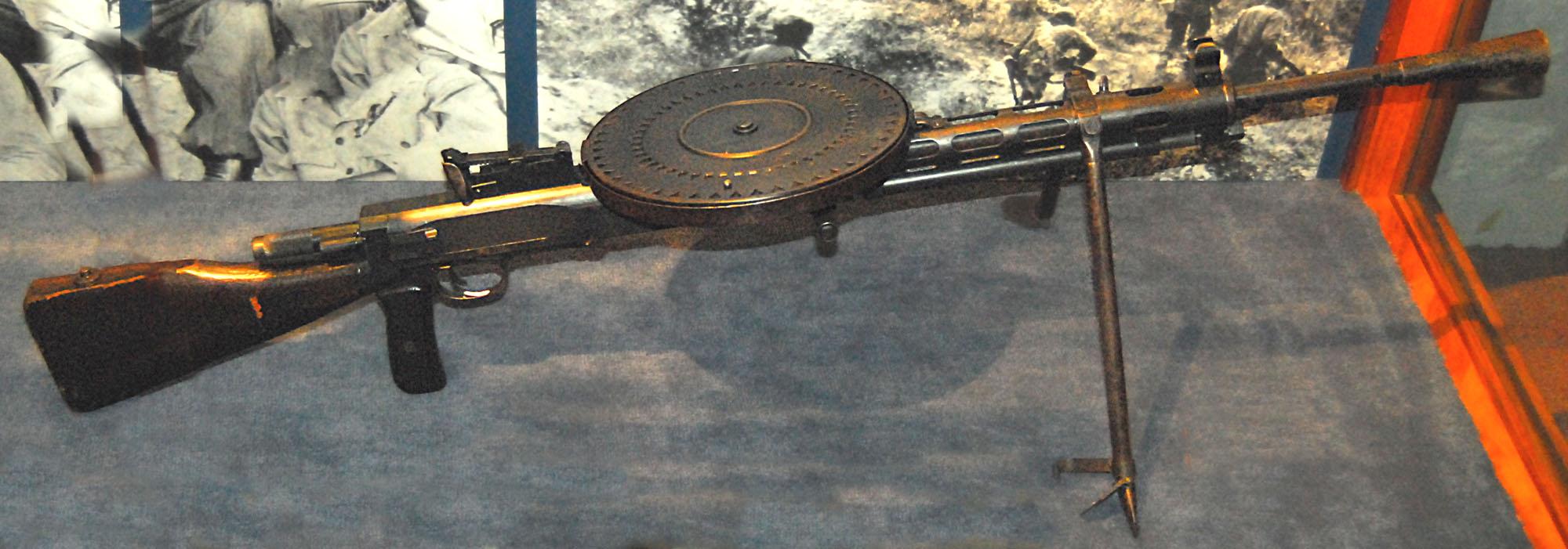 Пехотный ручной пулемёт Дегтярева