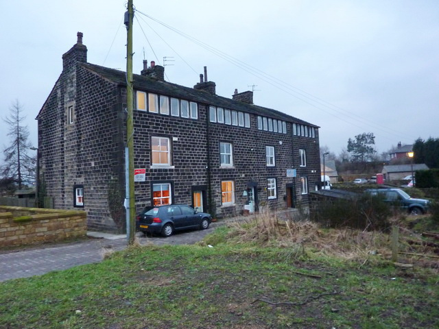File:Clegg Hall Cottages, Milnrow.jpg