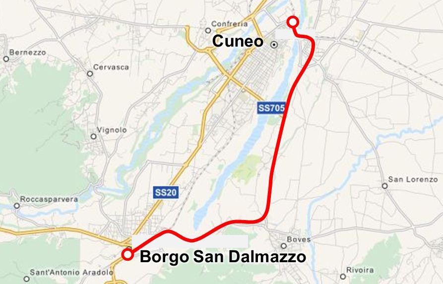 Ferrovia cuneo boves borgo san dalmazzo wikipedia for Materassi borgo san dalmazzo