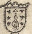 Escudo da Galiza no mapa de Paulo di Forlani (1560).jpg