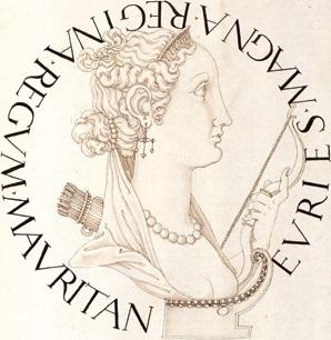 wife of Bogudes, King of Mauretania, and a mistress of Julius Caesar